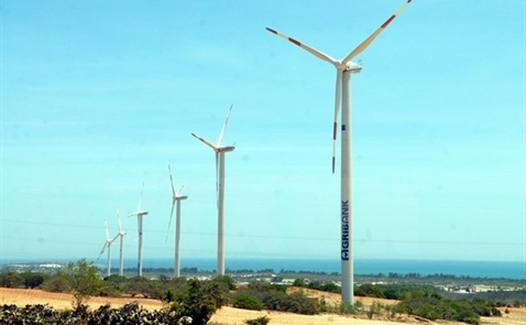 Dự án điện gió 1.100 tỷ đồng sắp đi vào vận hành