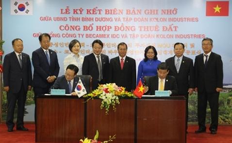 Công ty ô tô Hàn Quốc đầu tư 600 triệu USD vào Bình Dương