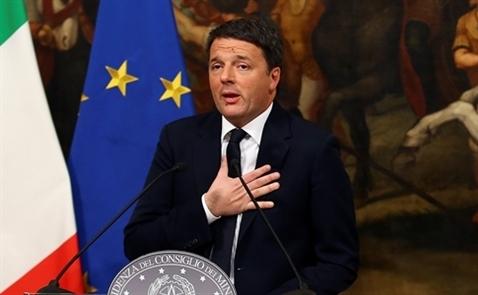 Thủ tướng Italy tuyên bố từ chức vì trưng cầu dân ý thất bại