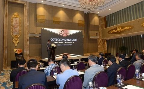 Các nhà đầu tư lớn cam kết đồng hành cùng Coteccons
