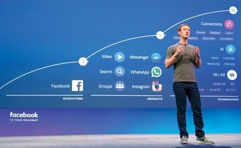 Chạy trời không khỏi Facebook