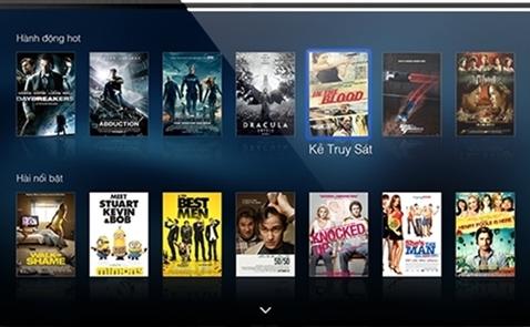 Netflix không đe doạ được các nhà cung cấp VOD trong nước