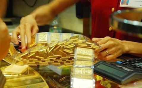 Giá vàng trong nước bật tăng trở lại