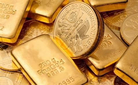 Giá vàng trong nước lên đỉnh 3 tuần