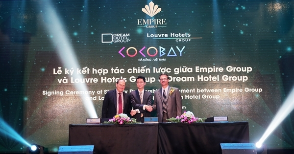 Empire Group hợp tác với Dream Hotel Group và Louvre Hotels Group, ra mắt Empire Hospitality