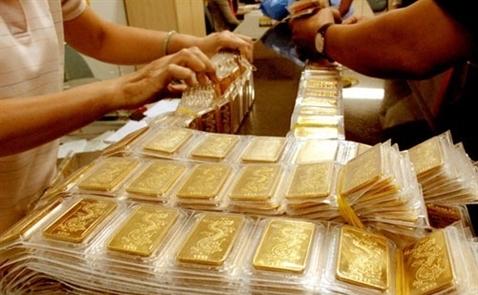 Giá vàng trong nước lên cao nhất hơn 2 tháng