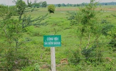 Tháng 7 khởi công công viên Sài Gòn Safari 500 triệu USD