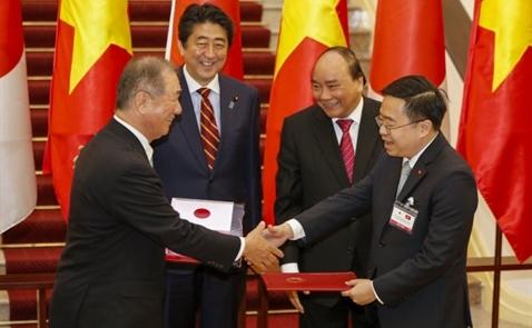 Nhật cam kết cấp thêm 1,05 tỉ USD vốn vay ODA cho Việt Nam