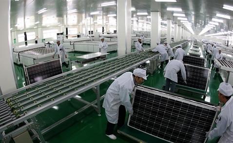 Hãng pin mặt trời Đài Loan muốn chuyển dây chuyền sang Việt Nam