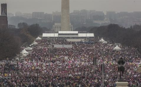 3 triệu người tham gia biểu tình lớn nhất lịch sử Mỹ phản đối Trump