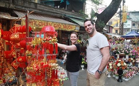 Hơn 1 triệu khách quốc tế đến Việt Nam trong tháng 1