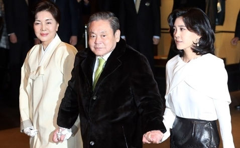 Bí ẩn nữ đại gia đằng sau ông chủ Samsung