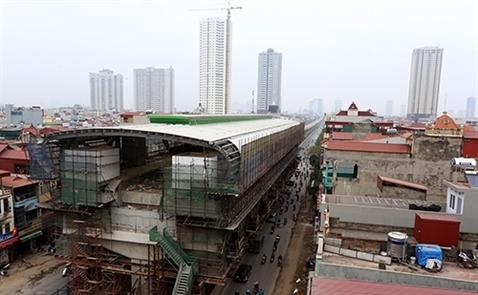 Đường sắt Cát Linh - Hà Đông chạy thử vào tháng 10