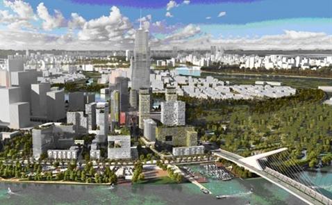 Xây gần 4.000 căn hộ tại khu phức hợp cao nhất Thủ Thiêm