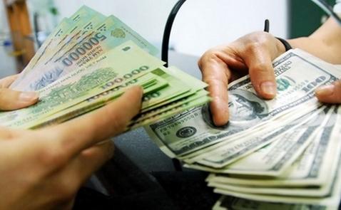 USD ngân hàng vọt lên 22.830 đồng