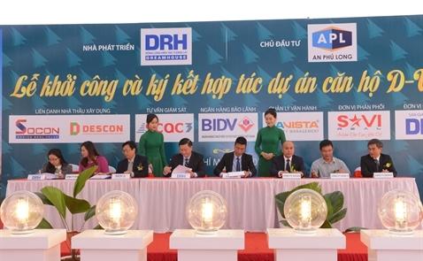 DRH khởi công dự án tại quận 7