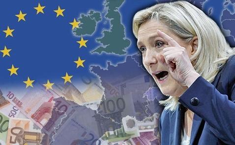 Thị trường Châu Âu đang run sợ vì bà Le Pen?