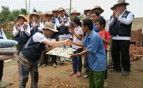 Habitat Việt Nam cùng doanh nghiệp Hàn Quốc xây nhà hy vọng tại Phú Thọ