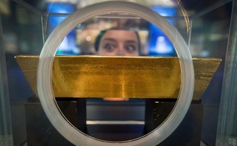 Giá vàng chạm đỉnh 1 tháng do tình hình chính trị Mỹ