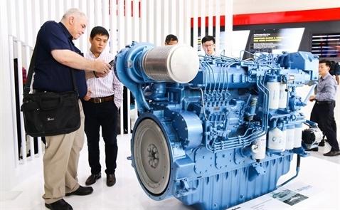 Nhà sản xuất động cơ diesel lớn nhất Trung Quốc mở rộng hoạt động tại Việt Nam