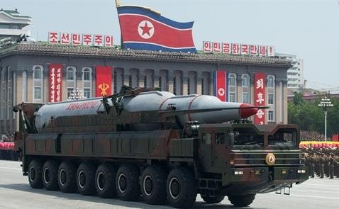 Triều Tiên lại thử tên lửa trước thềm cuộc họp Mỹ-Trung