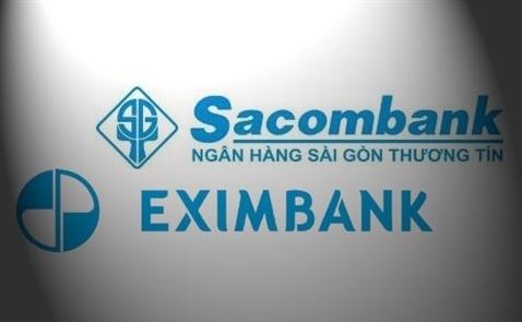 Eximbank lên kế hoạch thoái hết vốn khỏi Sacombank