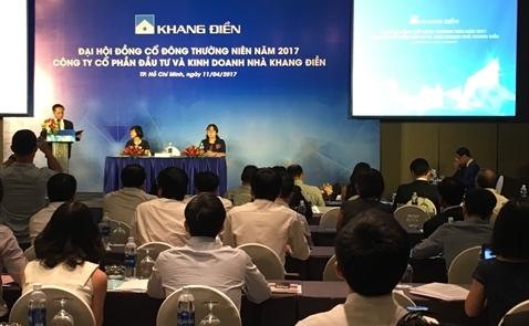 ĐHCĐ KDH: Nhà Khang Điền chuyển hướng vào thị trường căn hộ