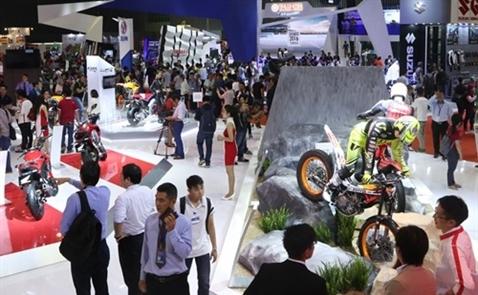 Triển lãm Mô tô Xe máy Việt Nam 2017: Đòn bẩy cho sự phát triển của thị trường xe máy Việt Nam