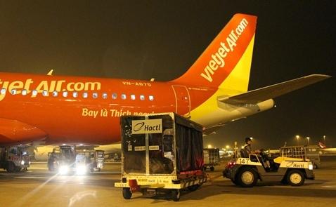 VietJet sắp khai trương dịch vụ máy bay chở hàng vào tháng 10