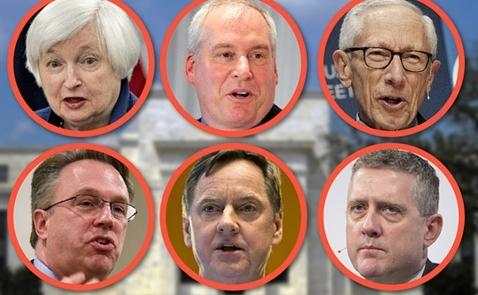 6 vị lãnh đạo Fed sẽ phát biểu trong ngày hôm nay
