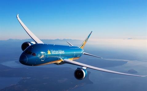 Vietnam Airlines báo lãi giảm 43% do hụt thu từ tài chính