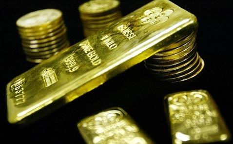 Giá vàng tăng phiên thứ 2 liên tiếp do chứng khoán giảm điểm