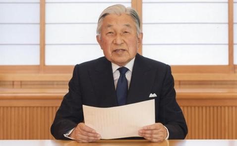 Nhật hoàng sẽ chính thức thoái vị vào năm 2018