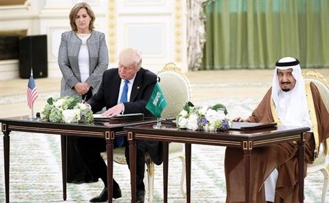 Mỹ và Arab Saudi củng cố quan hệ kinh tế