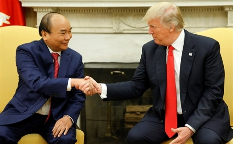 Tổng thống Donald Trump sẽ thăm song phương Việt Nam vào tháng 11