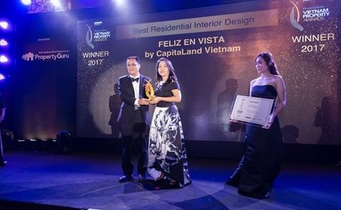 CapitaLand Vietnam xứng đáng nhận giải thưởng cao nhất tại Property Guru Vietnam Property Awards