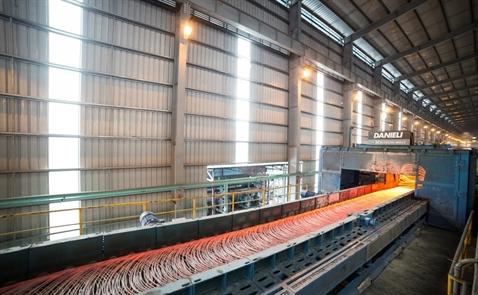 Sản lượng thép Hòa Phát tháng 5 tăng 33%