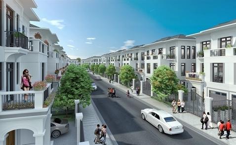 Độc đáo kiến trúc Đông Dương tại biệt thự song lập Vinhomes Riverside – The Harmony