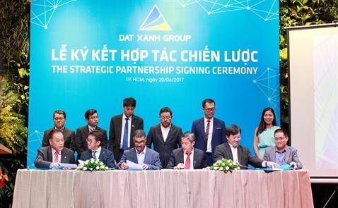DXG hợp tác chiến lược với HSG, TTF và gần 20 đối tác