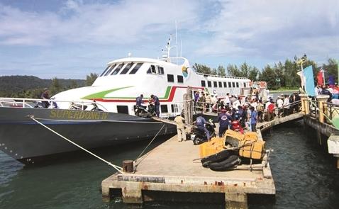 Tàu cao tốc Superdong: Nối đồng bằng với Côn Đảo