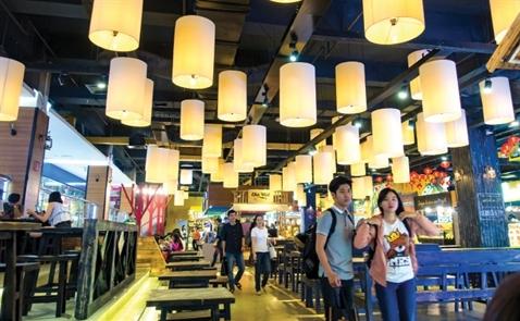 Food Court: Từ vùng ven xuống tầng hầm