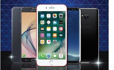 Sở hữu Samsung Galaxy S8/S8 Plus, iPhone 7/7 Plus và Samsung Galaxy J7 Prime với giá giảm tới 60%