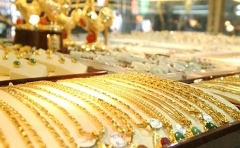 Giá vàng trong nước xuống thấp nhất 7 tháng