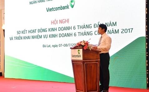 Lợi nhuận trước thuế của Vietcombank tăng 20% sau 6 tháng đầu năm