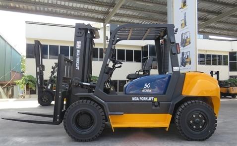Xe nâng dầu MGA: lựa chọn tối ưu cho doanh nghiệp sản xuất