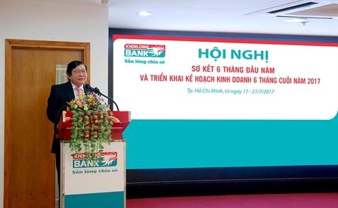 Kienlongbank đạt 137 tỷ đồng lợi nhuận trước thuế sau 6 tháng