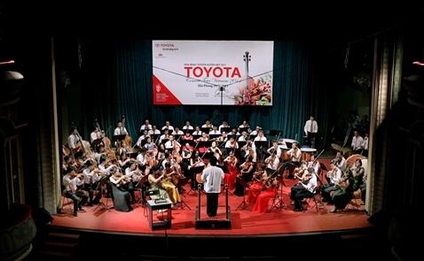 Chương trình Hòa nhạc Toyota 2017 sẽ bắt đầu vào ngày 16/8 tại TPHCM