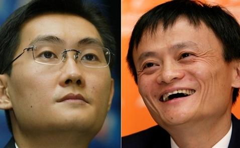 Các nhà sáng lập Alibaba và Tencent trở thành 2 người giàu nhất Trung Quốc