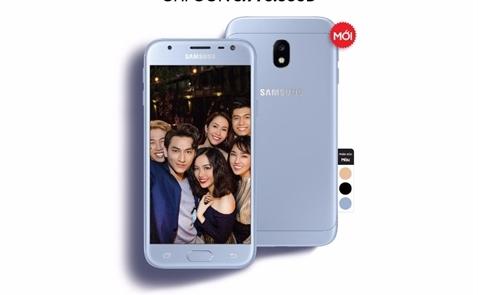 Samsung chính thức mở bán Galaxy J3 Pro tại thị trường Việt Nam với ưu đãi hấp dẫn