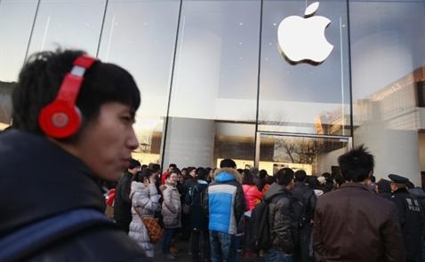 Doanh số iPhone tại Trung Quốc sắp rơi khỏi top 5?
